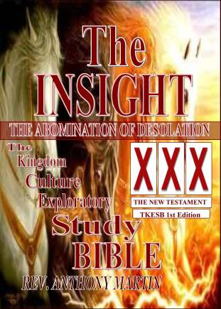 TKCFM~ Front Cover~THE INSIGHT-XXX-ABOMINATION OF DESOLATION