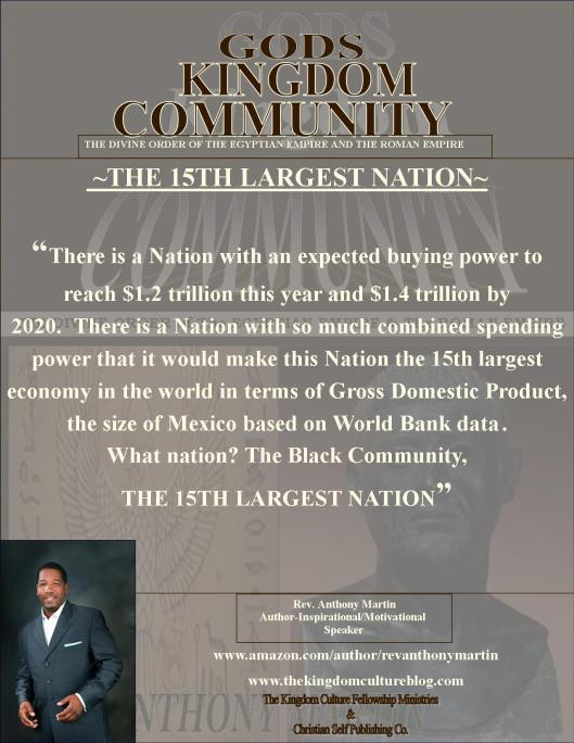 THE 15TH LARGEST NATION