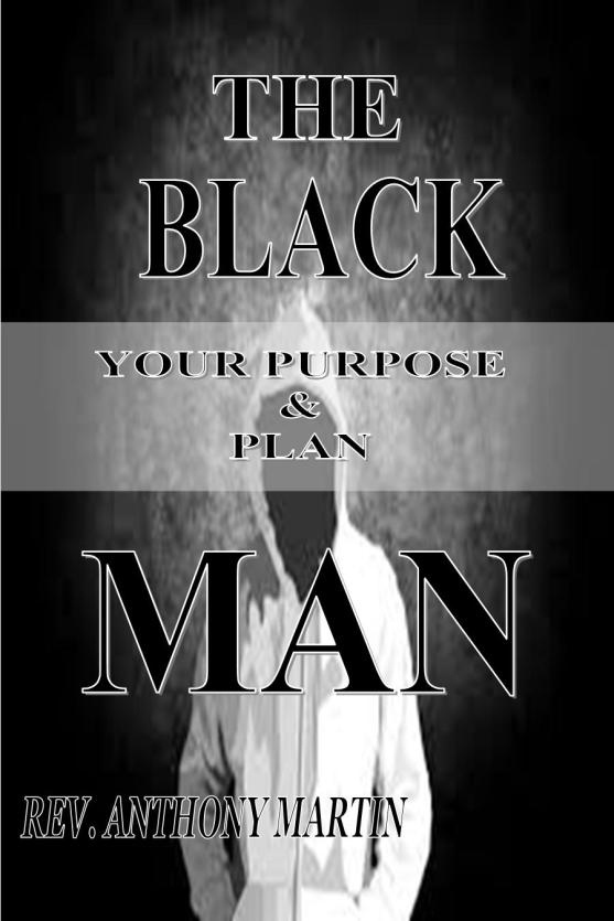 THE BLACK MAN - BOOK COVER - 2